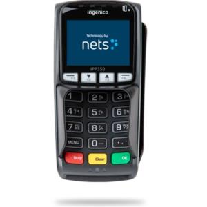 ingenico iPP350 Viking dankortterminal til integration med dit kasseapparat.